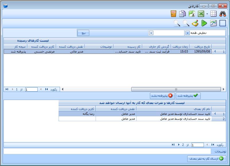 سیستم گردش کار راهکار Rahkar Workflow