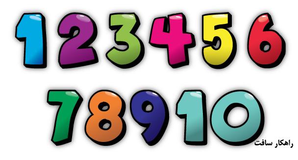 چگونه اعداد ویندوز را فارسی کنیم؟ چگونه اعداد ویندوز را انگلیسی کنیم؟
